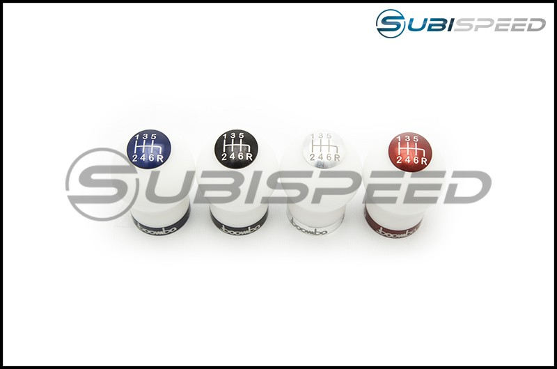 Boomba MT White Delrin Weighted Shift Knob