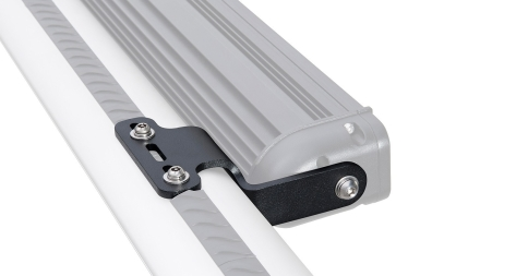 Rhino-Rack Vortex and Heavy Duty Crossbar LED Light Bar Brackets - Universal