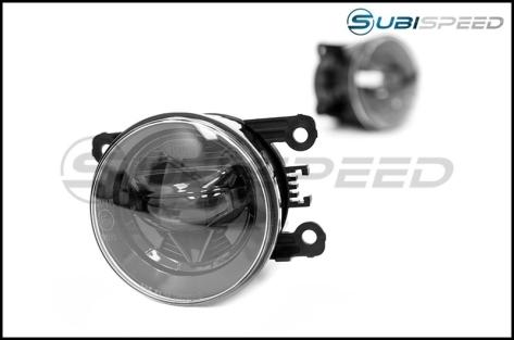 OLM Nightseeker LED Fog Lights - 15+ WRX / 15-17 STI / 13-16 BRZ / 13-17 Crosstrek / *14-18 Forester / 2013-2016 FR-S / BRZ / 86