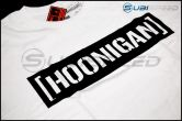 HOONIGAN Bracket Logo Short Sleeve White / Black Tee - Universal