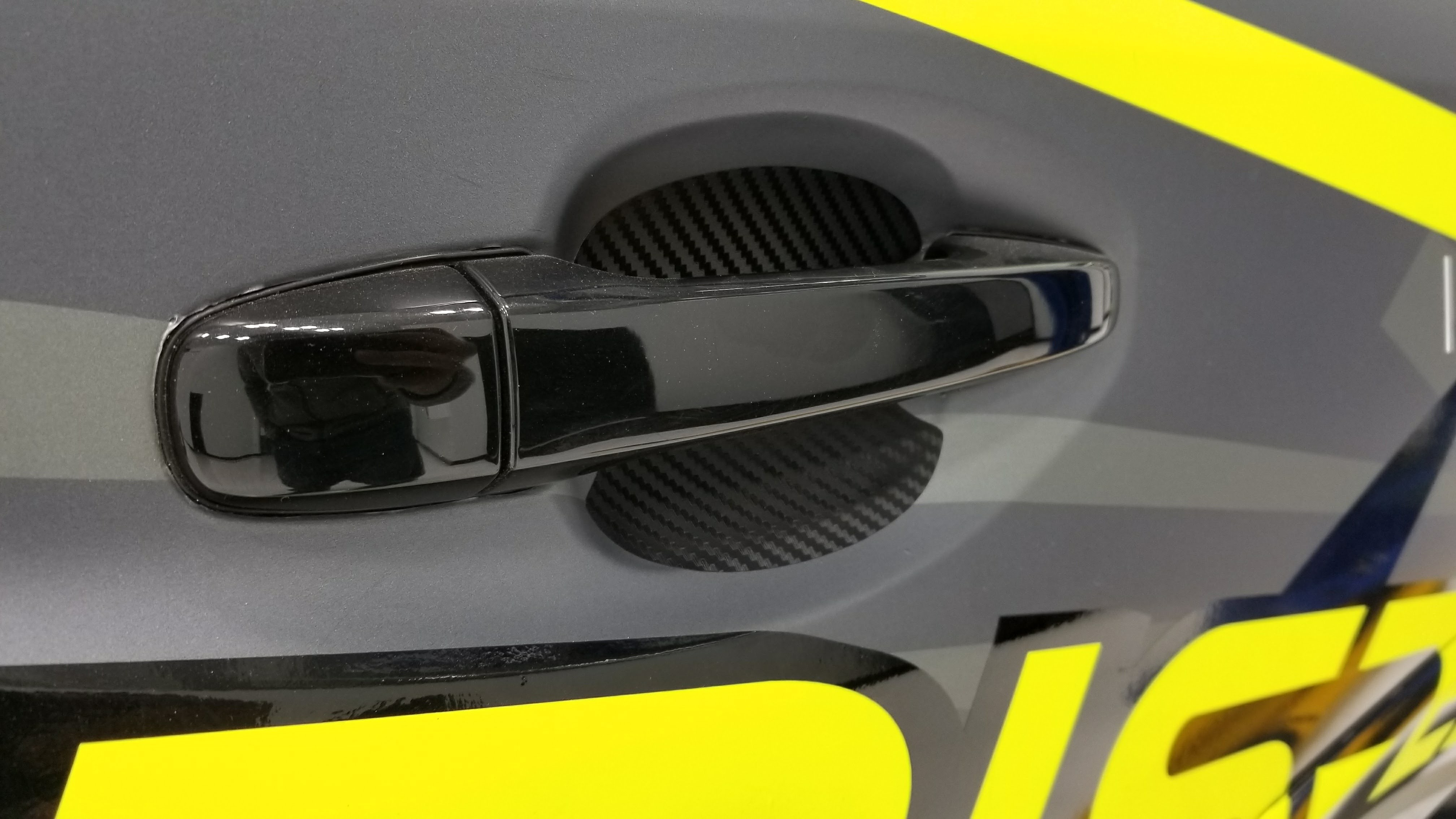 Sticker Fab JDM Style 3D Carbon Door Cup Protector