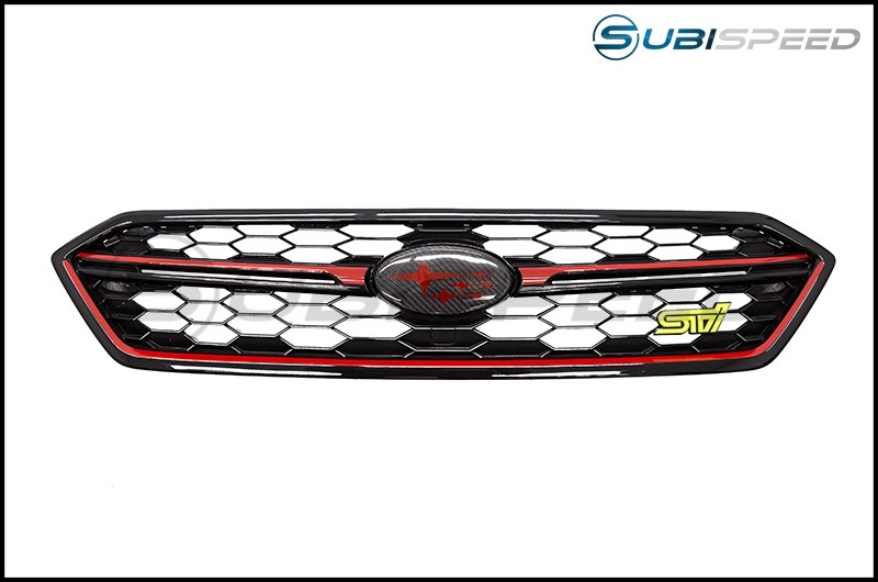 Japanese Style Grille Bar Overlays / Pinstripes