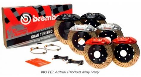 Brembo Rear 2 Piston Slotted or Drilled Brake Kit - 2015+ WRX MT