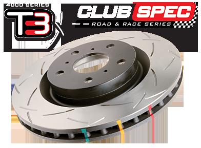 DBA Front / Rear Slotted T3 Rotors : All 4 Rotors (DBA4650S/DBA42663S)