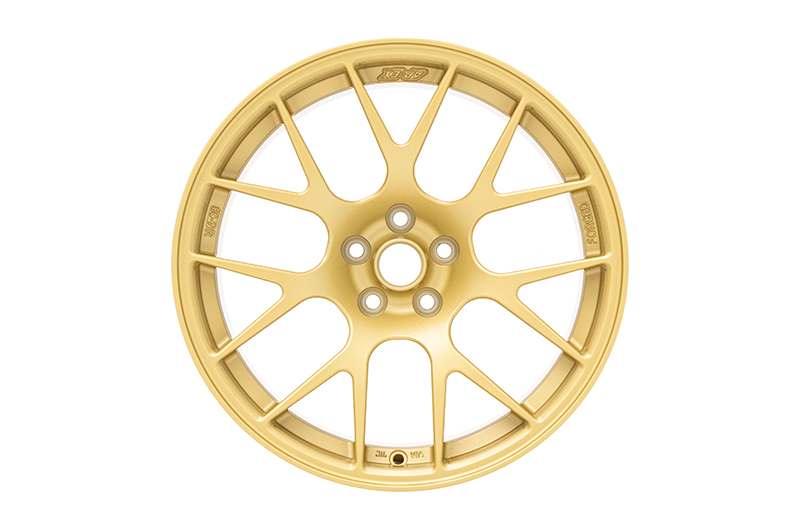 Apex Race Parts 18x9.5 +40 EC-7R Forged Satin Gold
