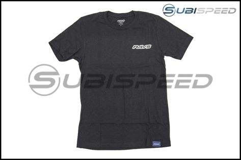 Rays Concept Is Racing T-Shirt Charcoal
