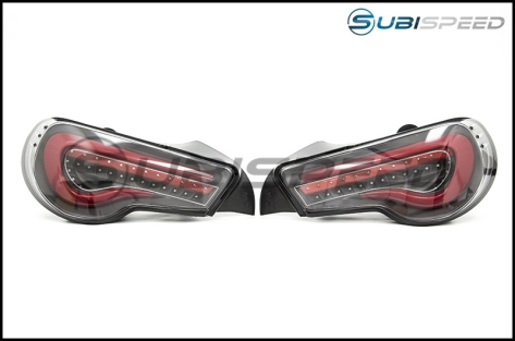OLM VL Style / Helix Sequential Clear Lens Tail Lights (FT86SF Edition) - 2013+ FR-S / BRZ