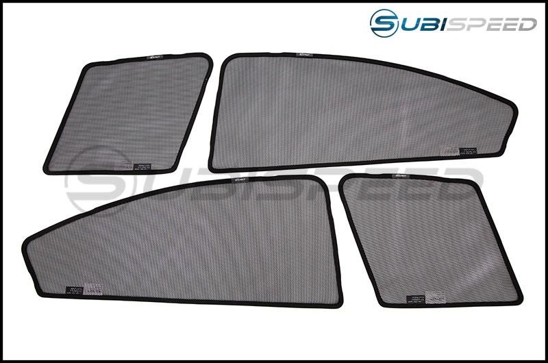 3D Maxpider Soltect Custom Fit Window Sun Shades - 2015-2020 WRX & STI