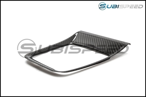 OLM S-Line Dry Carbon Fiber CVT Shifter Trim Cover