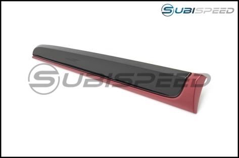 Subaru OEM Red and Piano Black Dash Trim - 2015+ WRX / 2015+ STI