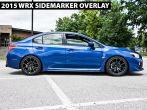 Front Sidemarker Blackout / Tinted Overlay - 2015-2020 Subaru WRX & STI
