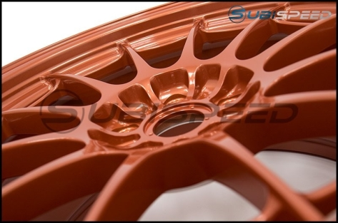 Enkei NT03+M 18x9.5 +40mm Orange - 2015+ WRX / 2015+ STI