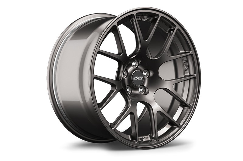 Apex Race Parts 18x9.5 +40 EC-7R Forged Anthracite - 2013+ FR-S / BRZ / 86