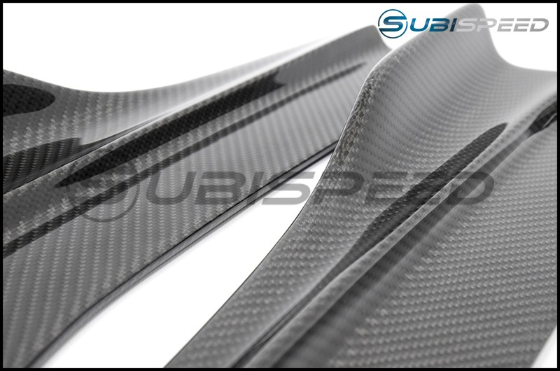 Seibon Carbon Fiber MB Style Rear Spats
