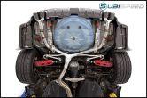 MBRP Race 3in Quad Tip Cat Back Exhaust - 2015+ WRX / 2015+ STI