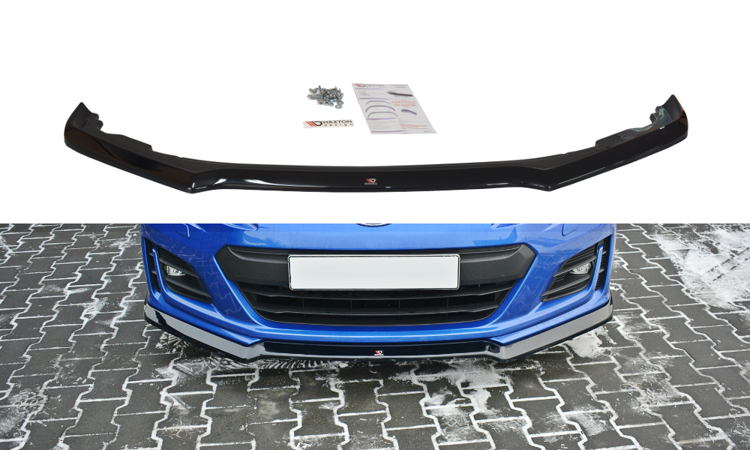 Maxton Design V2 Gloss Black Facelifted Front Lip
