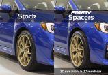 Perrin 5x114.3 Wheel Spacers - 2015-2020 Subaru WRX & STI