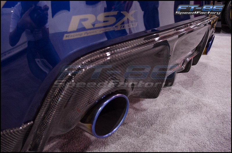 Seibon Carbon Rear Diffuser Cover