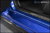OLM LE Dry Carbon Fiber Door Sill Cover by Axis - 2015+ WRX / 2015+ STI