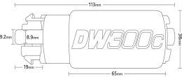 DeatschWerks DW300 Series Fuel Pump w/ Install Kit - 2015+ STI