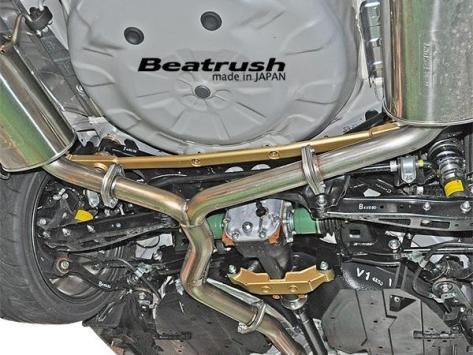Beatrush Member Support Bar (rear) - 2015+ WRX / 2015+ STI