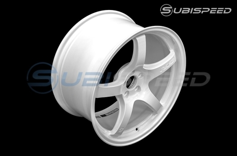 Rays Gram Lights 57CR Ceramic Pearl 18x9.5 +38 - 2013+ FR-S / BRZ / 86 / 2014+ Forester