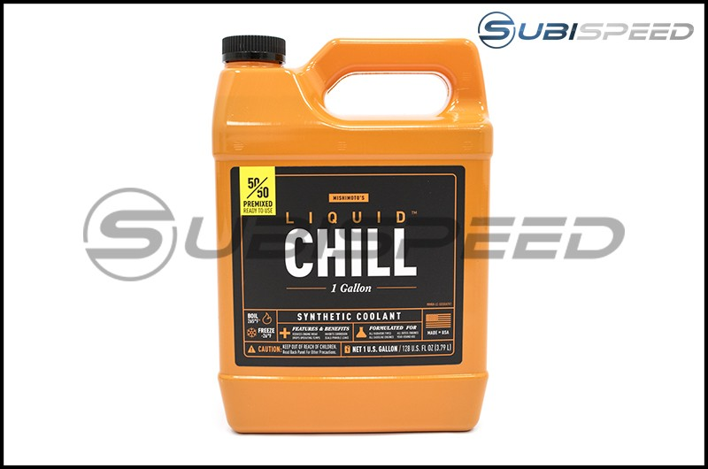 Mishimoto Liquid Chill Synthetic Engine Coolant, Premixed 1 Gal.