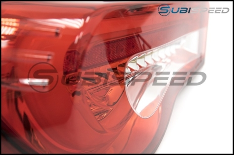OLM VL Style / Helix Sequential Red Lens Tail Lights RC Edition - 2013+ FR-S / BRZ