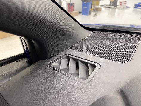 StickerFab 3D Carbon Defroster Vent Overlays - 15+ WRX / 15+ STI / 14-18 Forester / 13-17 Crosstrek