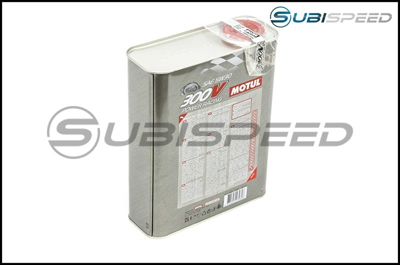MOTUL 300V 5W30 Full Synthetic Racing Motor Oil (2 Quarts)