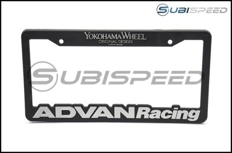 Advan Racing License Plate Frame