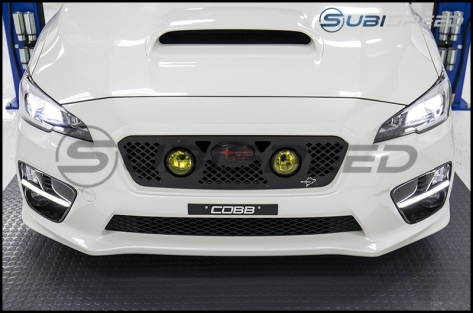 SubiSpeed Sequential / Sweeping JDM WRX S4 Style DRL Fog Light Bezels - 2015-2017 WRX / 2015-2017 STI