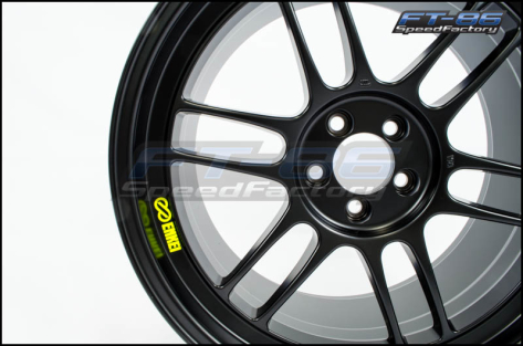 Enkei RPF1 Wheels 18x9.5 +38mm (Black) - 2013+ FR-S / BRZ / 86 / 2014+ Forester