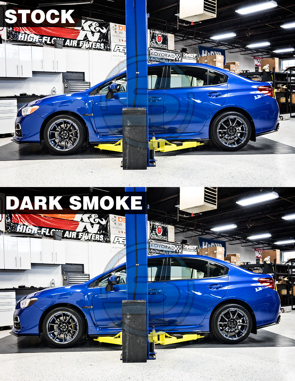 Front Sidemarker Blackout / Tinted Overlay
