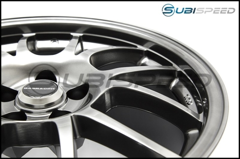 949 Racing 6UL 17x8 +40 Tungsten - 2013+ FR-S / BRZ / 86 / 2014+ Forester