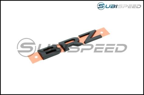 Subaru Hyperblue Series Black BRZ Trunk Emblem - 2013+ BRZ