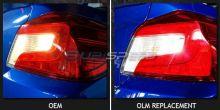 OLM LED Reverse Lights - 2015+ WRX / 2015+ STI / 2013+ FR-S / BRZ / 86 / 2013+ Crosstrek / 2014+ Forester