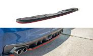 Maxton Design Redline Gloss Black Rear Diffuser - 2015+ WRX / 2015+ STI