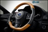 Subaru JDM Piano Black Steering Wheel Cover - 2015+ WRX / 2015+ STI