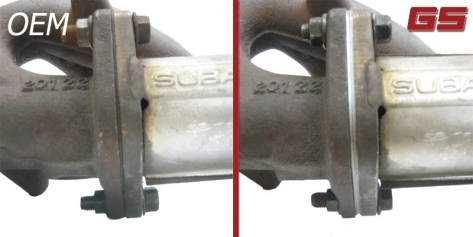 GrimmSpeed Exhaust Manifold to Up Pipe Gasket (2x thick)