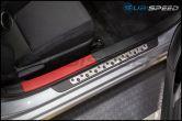 Toyota JDM Black and Red Upper Door Sill Scuff Guard Trim - 2013-2020 FRS / BRZ / 86