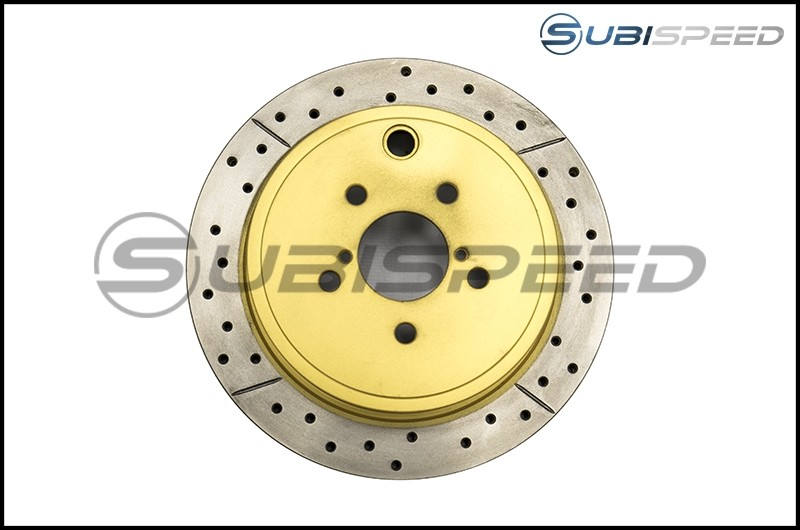 DBA Street Series Cross Drilled and Slotted Rear Rotors