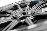 Cosmis Racing R1 18x9.5 +35mm Black Chrome - 2015+ WRX / 2015+ STI