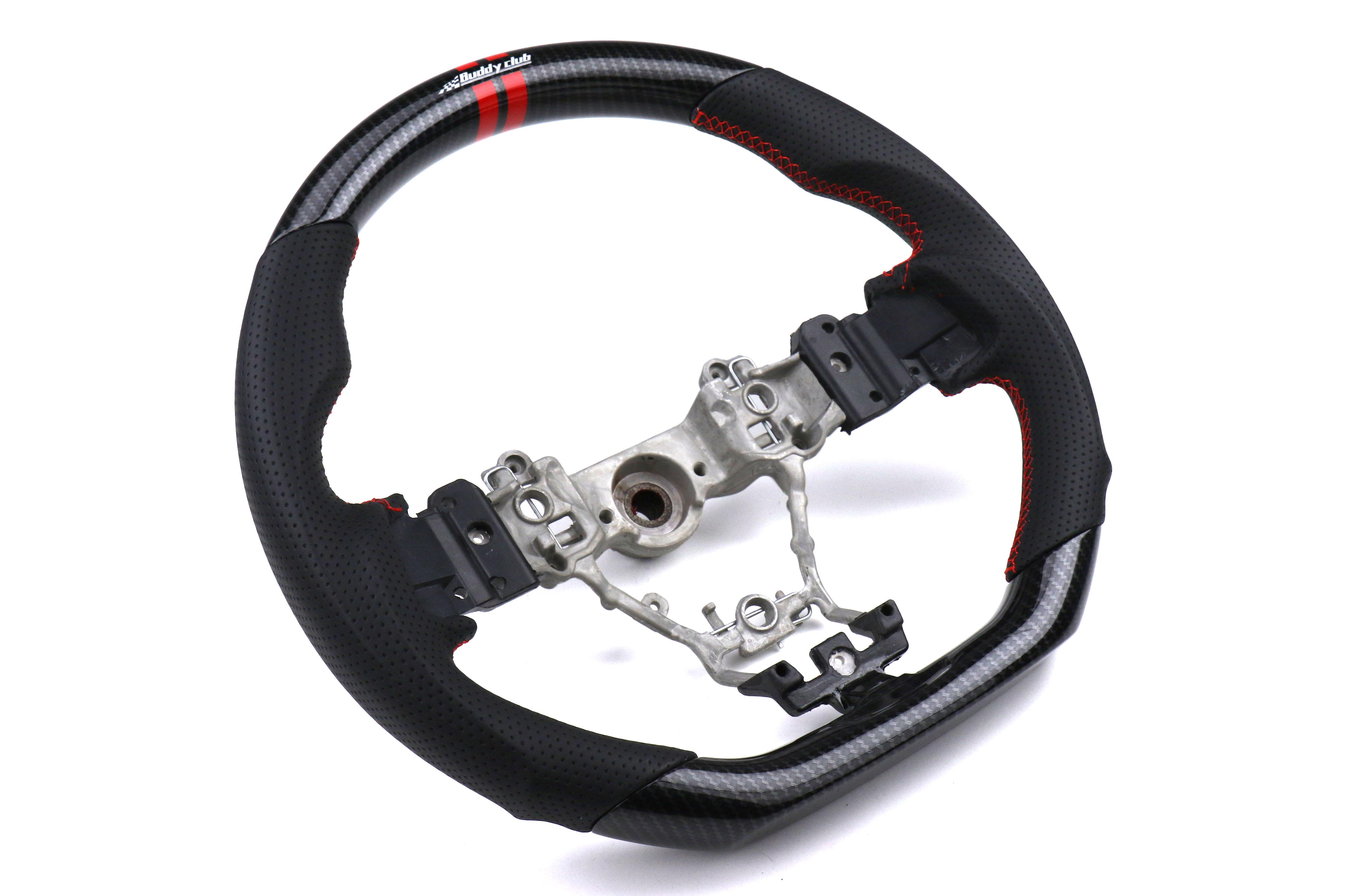Buddy Club Sport Carbon Style Steering Wheel