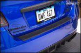 OLM Rubber Rear Bumper Protector - 2015+ WRX / 2015+ STI