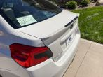 Sticker Fab 3D Carbon Low Profile Spoiler Protection Accent - 2015-2020 WRX / *STI