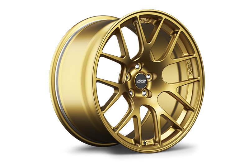 Apex Race Parts 18x9.5 +40 EC-7R Forged Satin Gold - 2013+ FR-S / BRZ / 86
