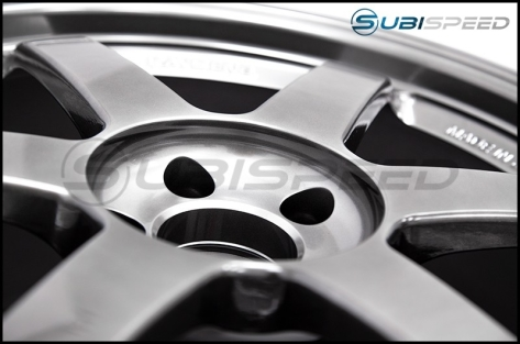 Volk TE37SL Formula Silver 18x9.5 +40 - 2015+ WRX / 2015+ STI