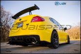 OLM Carbon Fiber Rear Bumper Exhaust Finishers - 2015+ WRX / 2015+ STI