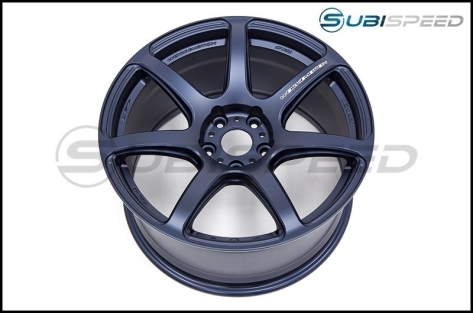 Work Emotion T7R 18x9.5 +38mm Matte Blue - 2015+ WRX / 2015+ STI